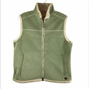 Woolrich Corduroy Sherpa Lined Vest sz M